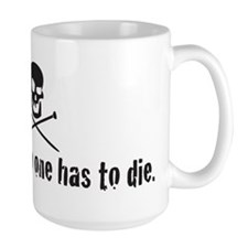 i knit so no one has to die Mug