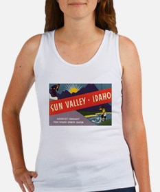 Sun Valley Idaho Women's Tank Top