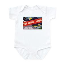 Sun Valley Idaho Infant Bodysuit