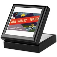 Sun Valley Idaho Keepsake Box