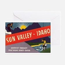 Sun Valley Idaho Greeting Card
