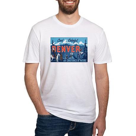Denver Colorado Fitted T-Shirt