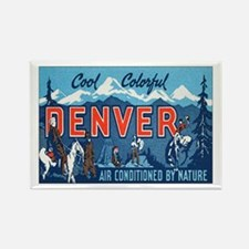 Denver Colorado Rectangle Magnet
