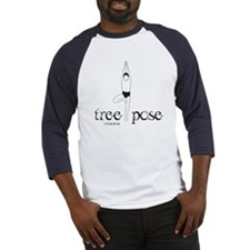 Tree Pose Baseball Jersey