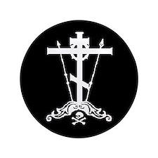 "Orthodox Christian 3.5"" Button"