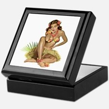 Tropical Girl Keepsake Box