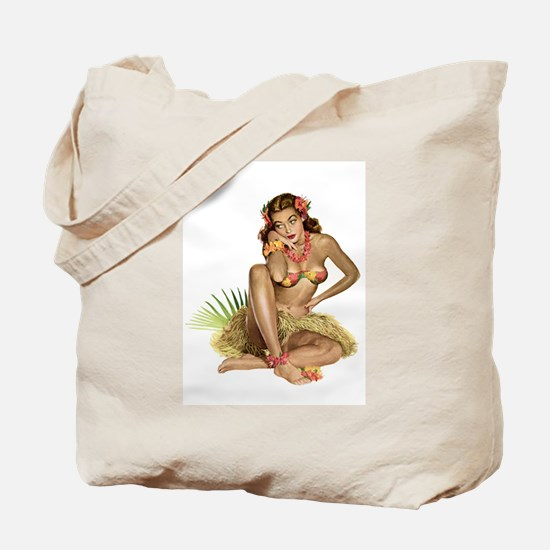 Tropical Girl Tote Bag