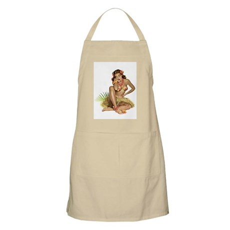 Tropical Girl BBQ Apron