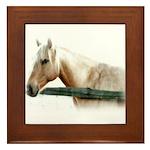 Horse Framed Tile