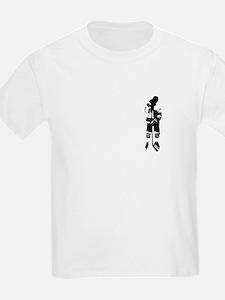 Hockey Player Kids T-Shirt