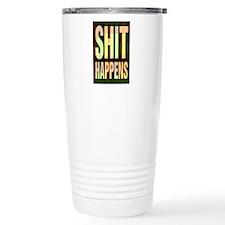 SHIT HAPPENS-MULTI/BLACK Travel Mug