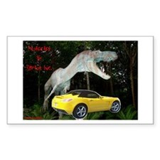 SATURN SKY Rectangle Decal