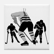 Hockey Players Tile Coaster