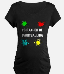 Rather Be Paintballing (T-Shirt)