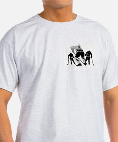 Hockey Players Ash Grey T-Shirt