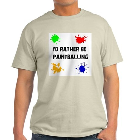 Rather Be Paintballing (Light T-Shirt)