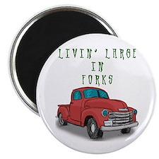 """Livin' Large 2.25"""" Magnet (100 pack)"""