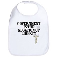 Negation of Liberty Bib