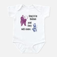 Sing Italian Infant Bodysuit
