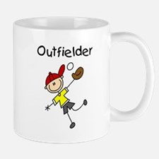 Boy Baseball Outfielder Mug