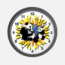 Panda Planet Wall Clock