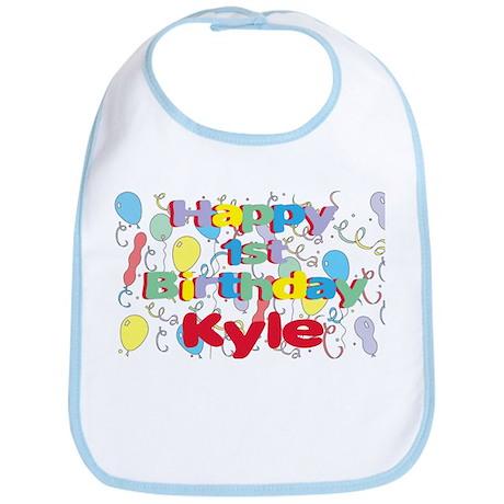 Kyle's 1st Birthday Bib