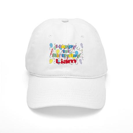 Liam's 1st Birthday Cap
