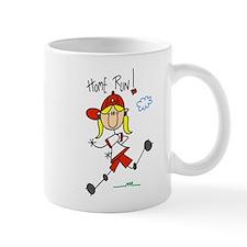 Girls Home Run Mug
