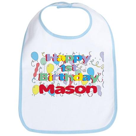 Mason's 1st Birthday Bib