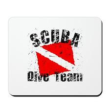 Scuba Dive Team Mousepad