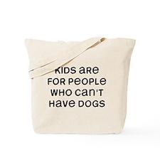 Kids Dogs Tote Bag