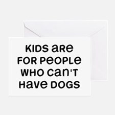 Kids Dogs Greeting Card