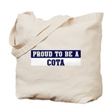 Proud to be Cota Tote Bag