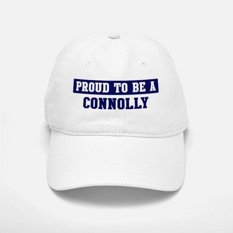 Proud to be Connolly Baseball Baseball Cap