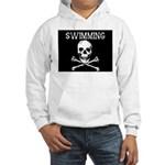 Swimming Pirate Hooded Sweatshirt