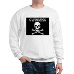 Swimming Pirate Sweatshirt
