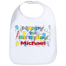 Michael's 1st Birthday Bib