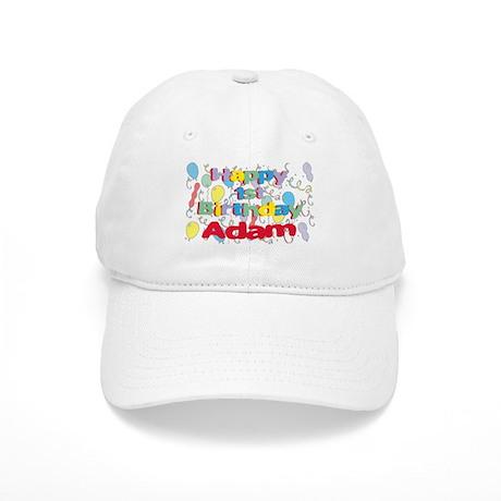 Adam's 1st Birthday Cap