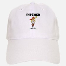 Girl Baseball Pitcher Baseball Baseball Cap