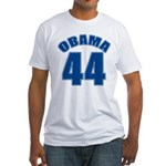 OBAMA 44 44th President Fitted T-Shirt