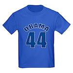OBAMA 44 44th President Kids Dark T-Shirt