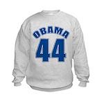 OBAMA 44 44th President Kids Sweatshirt