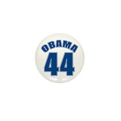 OBAMA 44 44th President Mini Button (100 pack)