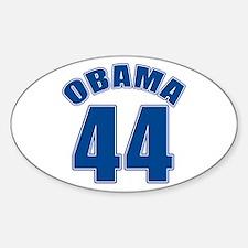OBAMA 44 44th President Oval Bumper Stickers