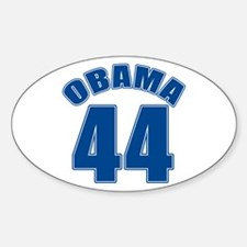 OBAMA 44 44th President Oval Decal