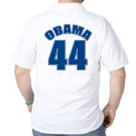 OBAMA 44 44th President Golf Shirt