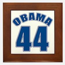 OBAMA 44 44th President Framed Tile