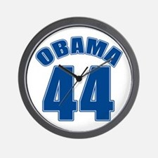 OBAMA 44 44th President Wall Clock