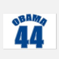 OBAMA 44 44th President Postcards (Package of 8)