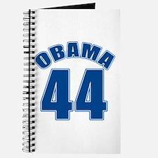 OBAMA 44 44th President Journal